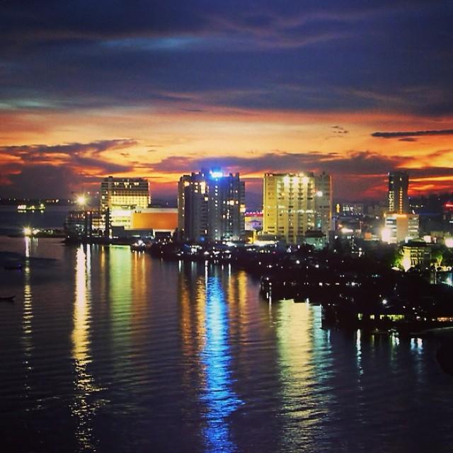 Night View Of Balikpapan Skyline Balikpapan Night Ssc Flickr