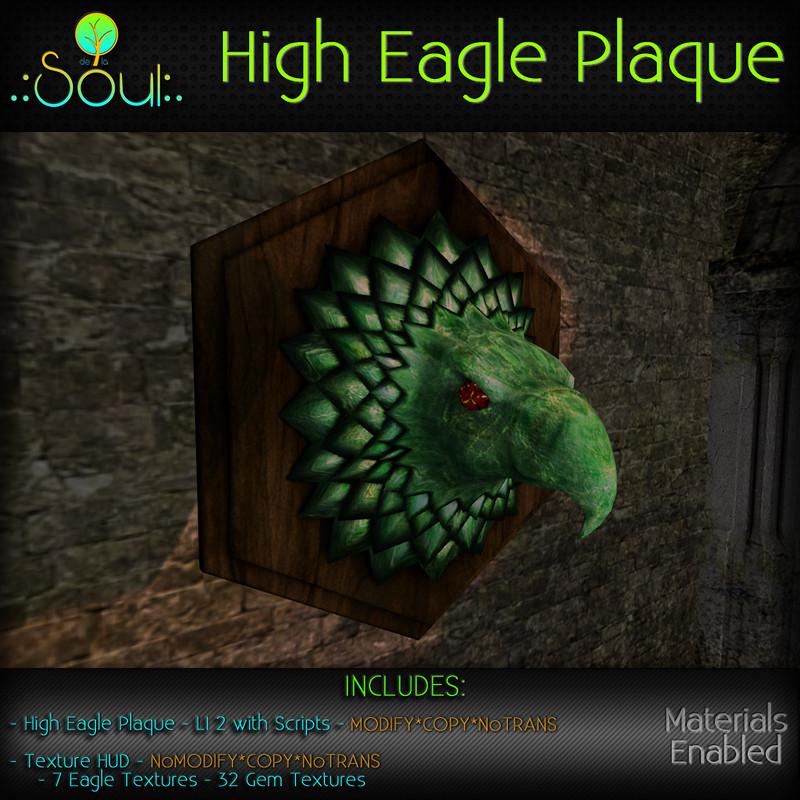 2014 High Eagle Plaque