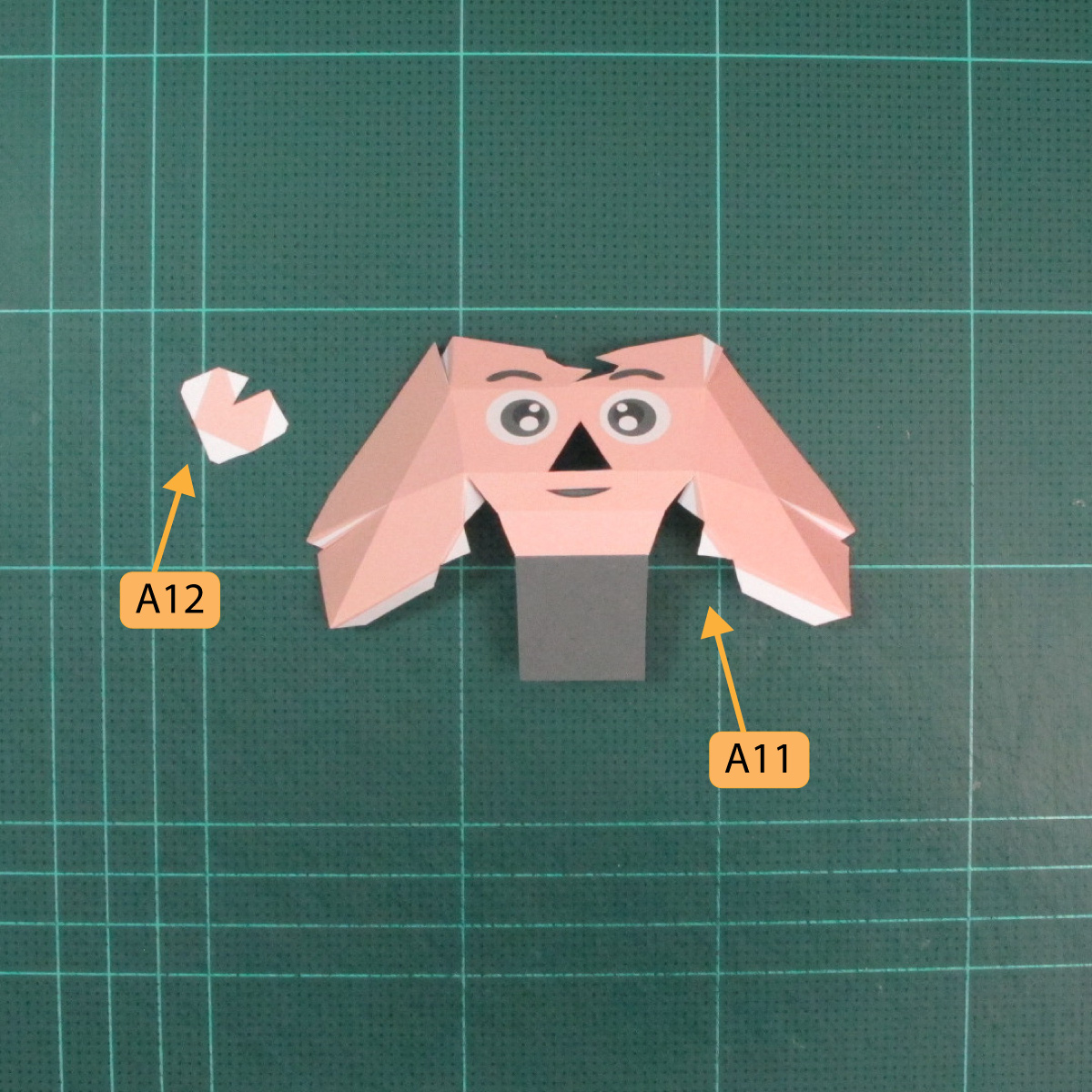 วิธีทำของเล่นโมเดลกระดาษซุปเปอร์แมน (Chibi Superman  Papercraft Model) 001