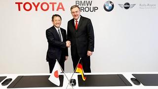 TOYOTA & BMW