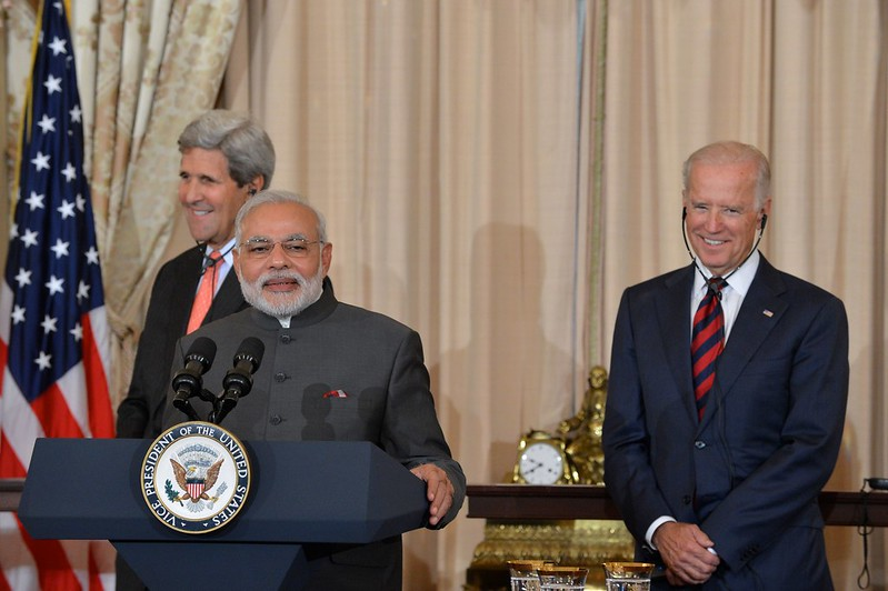 Indian Prime Minister Modi Delivers Remarks at a Luncheon Co-Hosted by Secretary Kerry and Vice President Biden