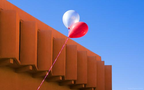 Balloons Clark Hall