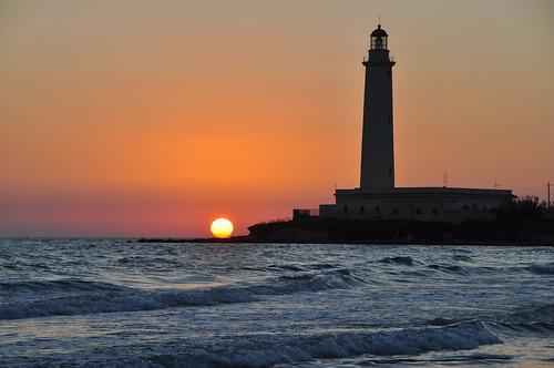 sunset sea faro tramonto mare ligthhouse kartibubbo granitola