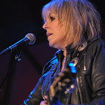Wed, 01/10/2014 - 5:32pm - Lucinda Williams at Rockwood Music Hall in NYC, 10/1/14. Hosted by Rita Houston. Photo by Neil Swanson.