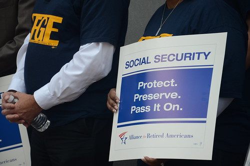 Coalition to Save Our Social Security Delivers Petition to D.C. SSA Office to Keep Field Offices Open   by AFGE