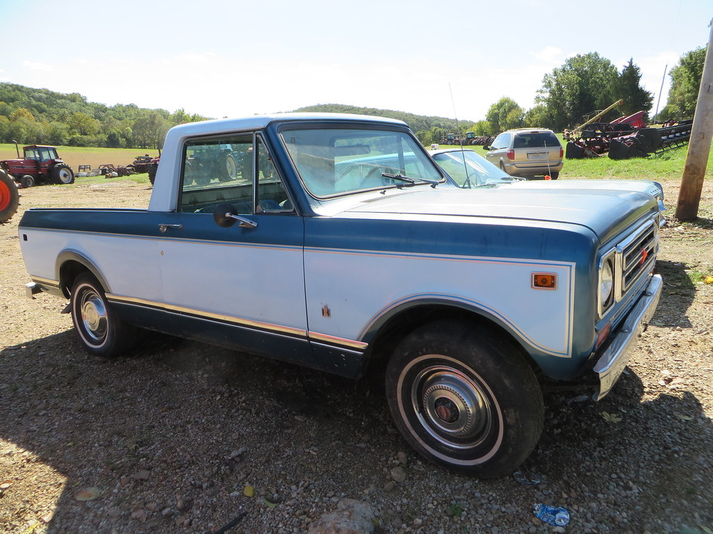 1975 International Scout Terra 4x4 | Pickup, at auction Satu