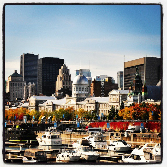 Looking at old #Montréal