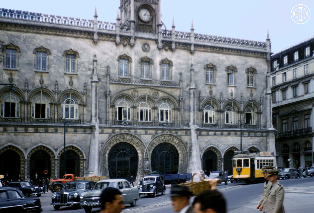 Estação do Rossio, Lisboa (Portimagem, s.d.)