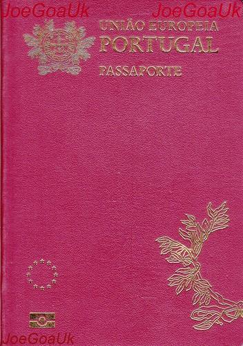 Portuguese Passport | by joegoaukextra4