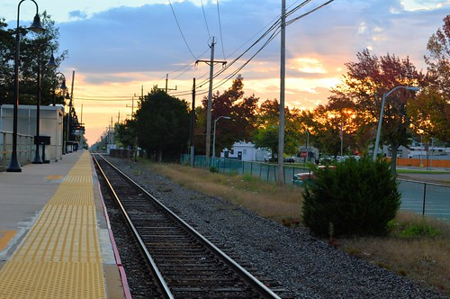 train tracks lirr northport