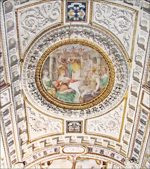 La voûte du grand escalier (Palazzo Grimani, Venise)