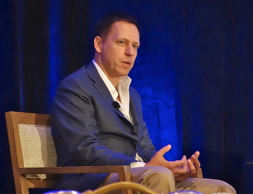"""Microsoft is a nihilistic bet against tech innovation."" More Peter Thiel zingers below 