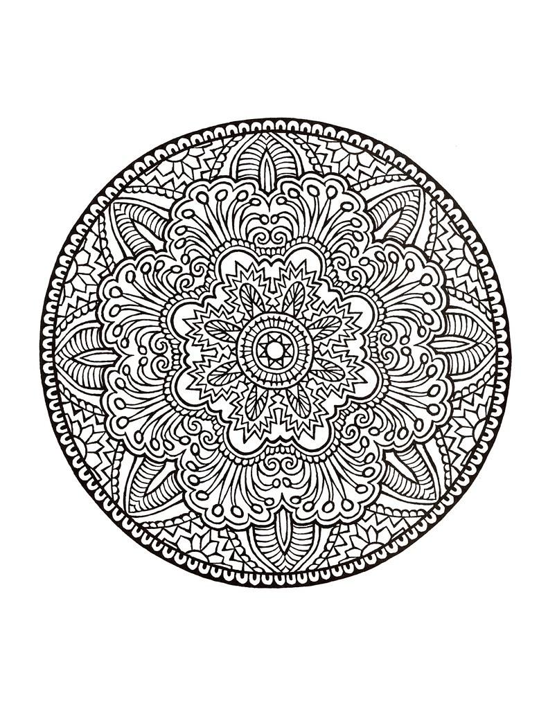mandala coloring book hd coloring pages for adult coloring flickr. Black Bedroom Furniture Sets. Home Design Ideas