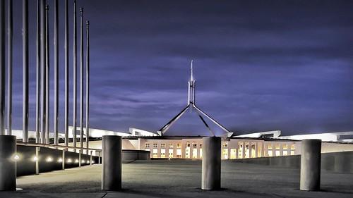 Parliament House - 20141005 @ 06:02   by MomentsForZen