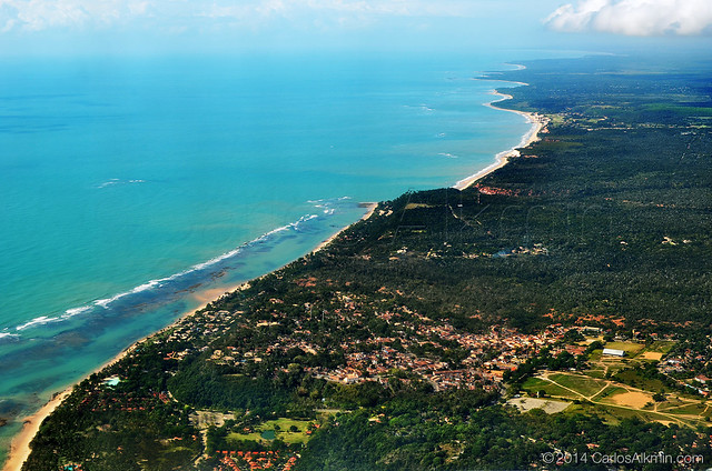 Arraial d'Ajuda and Trancoso from the top