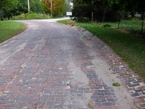 Brick Lincoln Highway | by Jim Grey