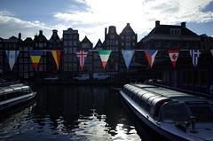 Amsterdam flags
