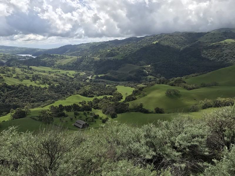 View from Sunol Regional Wilderness Flag Hill
