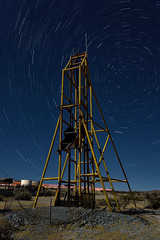 north star headframe. mojave desert, ca. 2016.