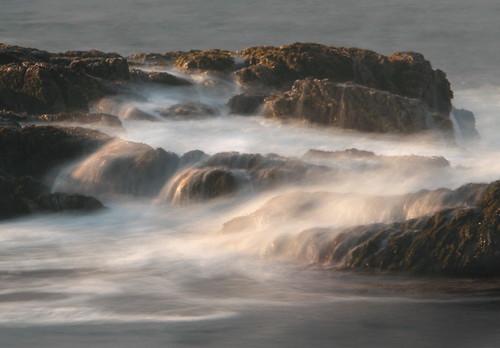 longexposure lana nature water rocks waves maine peninsula schoodic acadianationalpark gramlich canoneos5d elitegalleryaoi lanagramlich dailynaturetnc14 aug82014