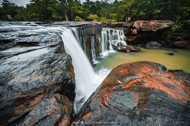 Tat Ton waterfall, Thailand.