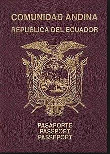 ecuador passport