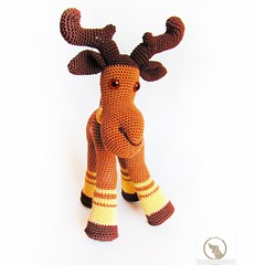 amigurumi elk, forest animal, soft toy, Crochet Animal, brown moose, gift child,  stuffed toy, Kid Toy, crochet doll, amigurumi doll amigurumi elk, forest animal, soft toy, Crochet Animal