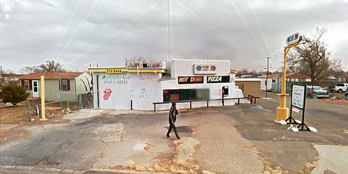 street city urban man guy trek google texas view tx amarillo hdr panhandle streetview panamerican greengo photomatix gsv mustacheride barandgrill discountstore texaspanhandle googlestreetview