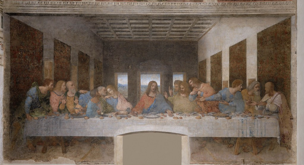 Leonardo da Vinci, The Last Supper. c.1495-1498.