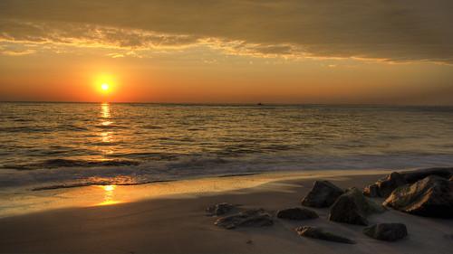 ocean usa sun beach nature beautiful clouds sunrise landscape waves florida peaceful atlantic