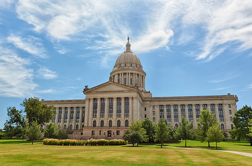 Oklahoma State Capitol (Rear) #2