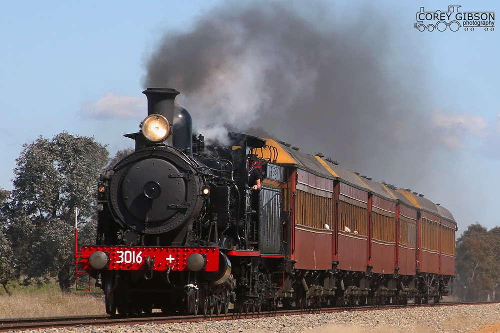 3016 - Australian Railway Historical Society (ACT) – Steam to Bungendore by Corey Gibson
