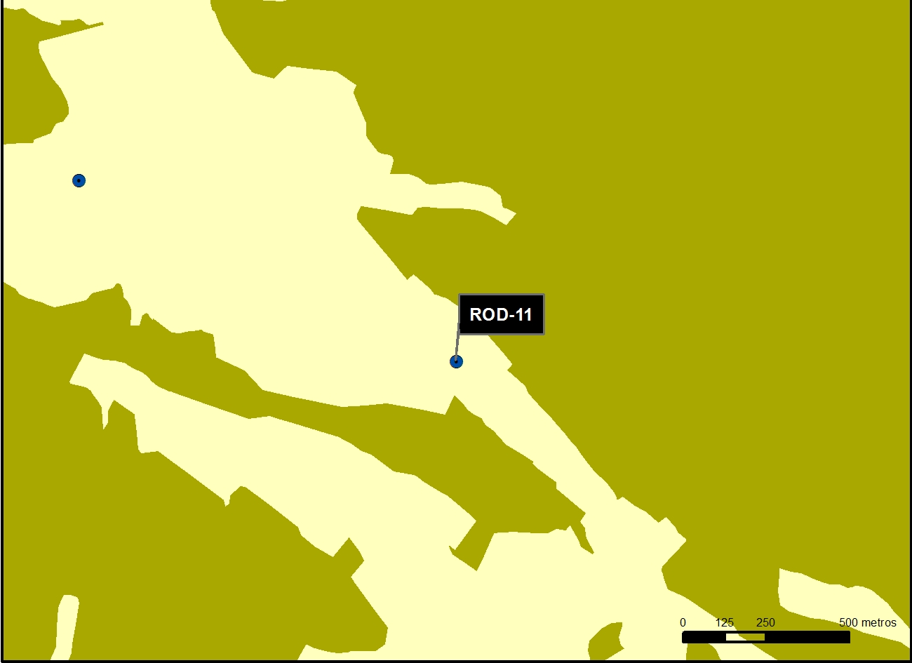ROD_11_M.V.LOZANO_ POZO VILLARPARDO_MAP.VEG