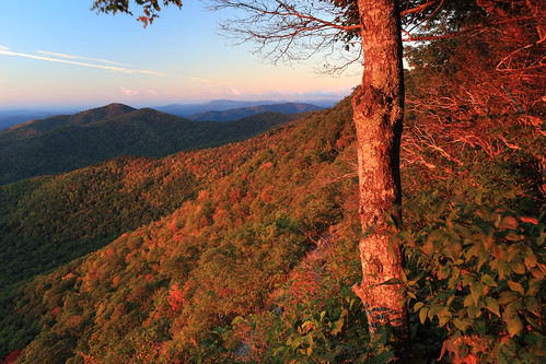 sunrise northcarolina blueridgeparkway northcarolinamountains canon1635mmf28 durinsday canon6d johnsrock