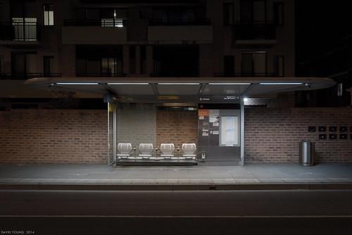 nightphotography urban night canon dark streetlight nocturnal empty australian australia streetscene busstop newsouthwales suburbs lonely minimalism urbanlandscape nightexposure parramatta davidyoung ef1740mmf4lusm canoneos5dmarkiii ref5