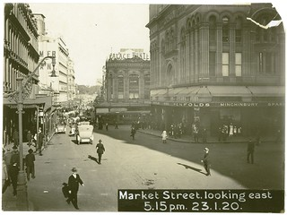 Market Street looking east for York Street, Sydney (NSW) | by NSW State Archives and Records