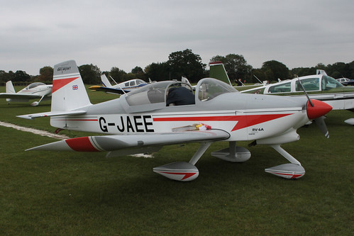 G-JAEE Vans RV-6A Sywell [PFA 181A-13571] 030911
