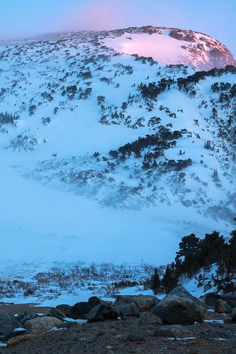 stmarys landscape winter colorado outdoors lake sunrise places glacier idahosprings unitedstates us