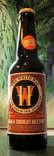 White Hag Coffee-Infused Oatmeal Chocolate Milk Stout, an curious beer but delicious from Ireland