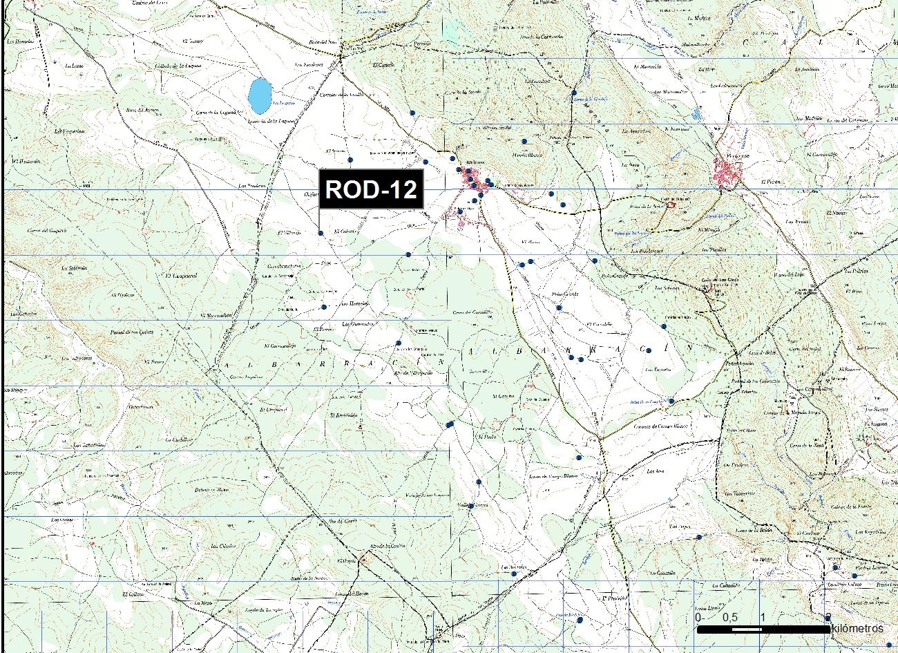 ROD_12_M.V.LOZANO_ POZO ESPUELA_MAP.TOPO 1