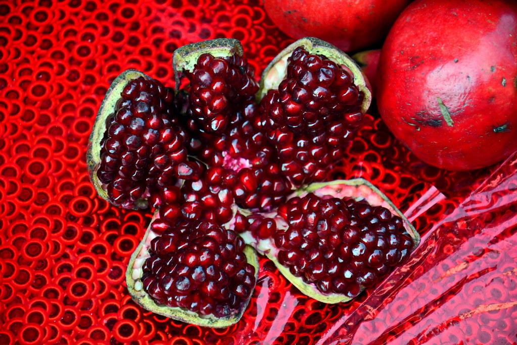 India Maharashtra Mumbai Pomegranate The Pomegranate