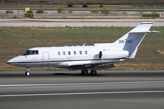 Raytheon Hawker 800. Empire Aviation Group. 5N-EXJ. Palma.
