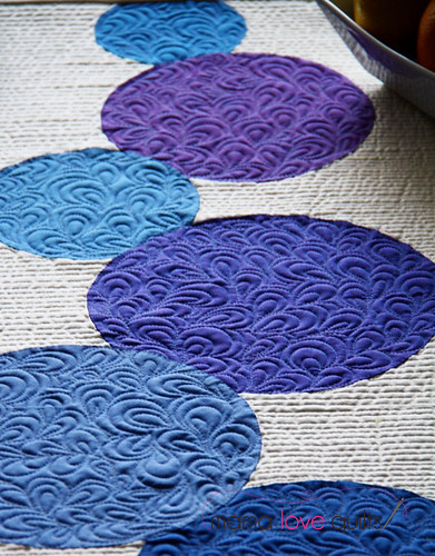 Connect the Dots Table Runner_Closeup1   by Mama Love Quilts (Nicole)