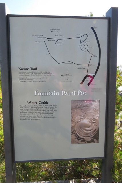 Fountain Paint Pot Trail