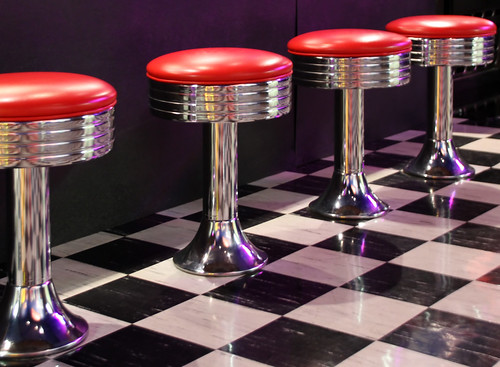 Diner Stools | by ahisgett