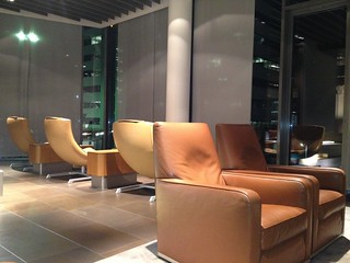 Lufthansa First Class Terminal Frankfurt - flight to Buenos Aires | by jens kuhfs