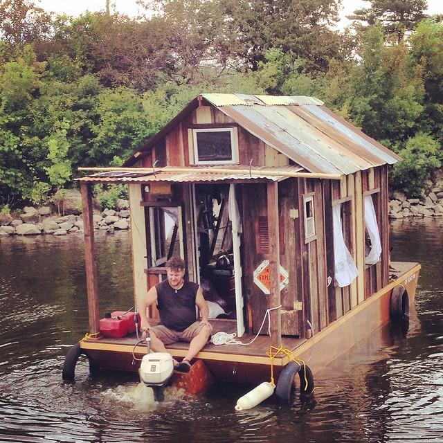 Wes Modes on the Secret History Shantyboat