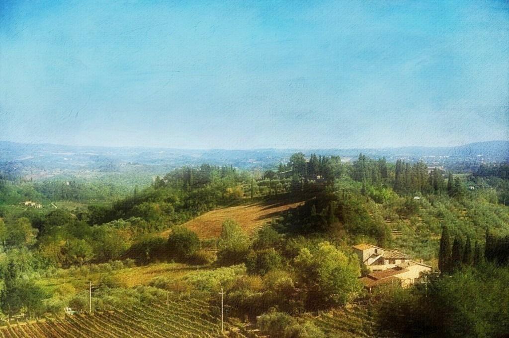 Paysage de Toscane (Italie)