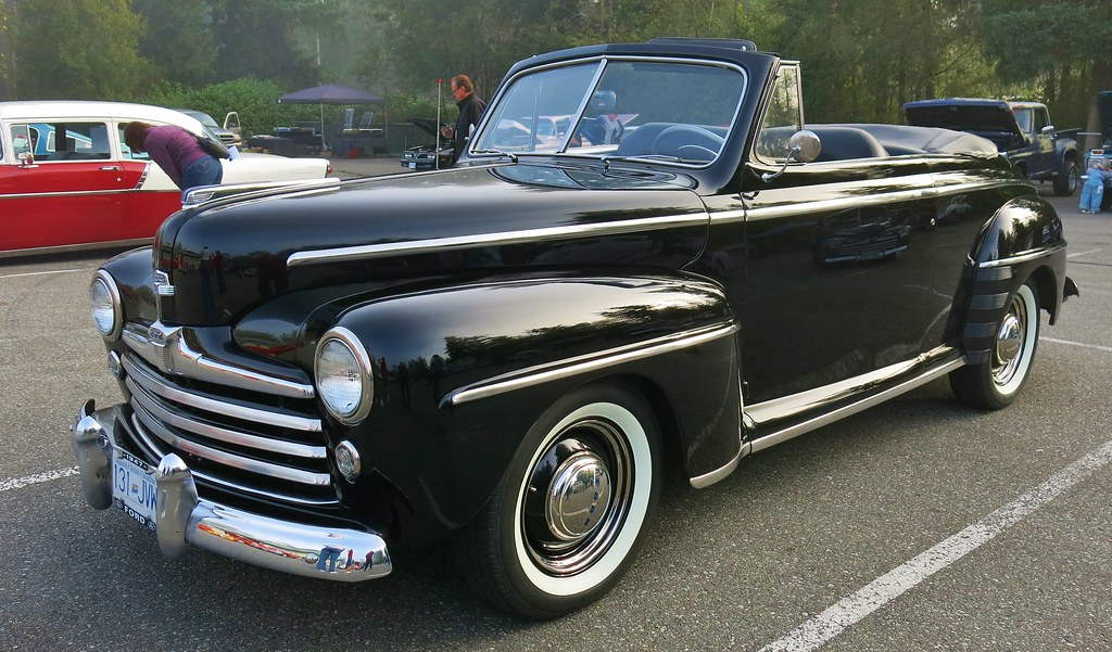 1947 Ford Super Deluxe Convertible Custom Cab Flickr