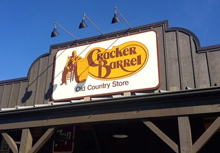 Cracker Barrel, 10/2014 by Mike Mozart of TheToyChannel and JeepersMedia on YouTube #Cracker #Barrel | by JeepersMedia